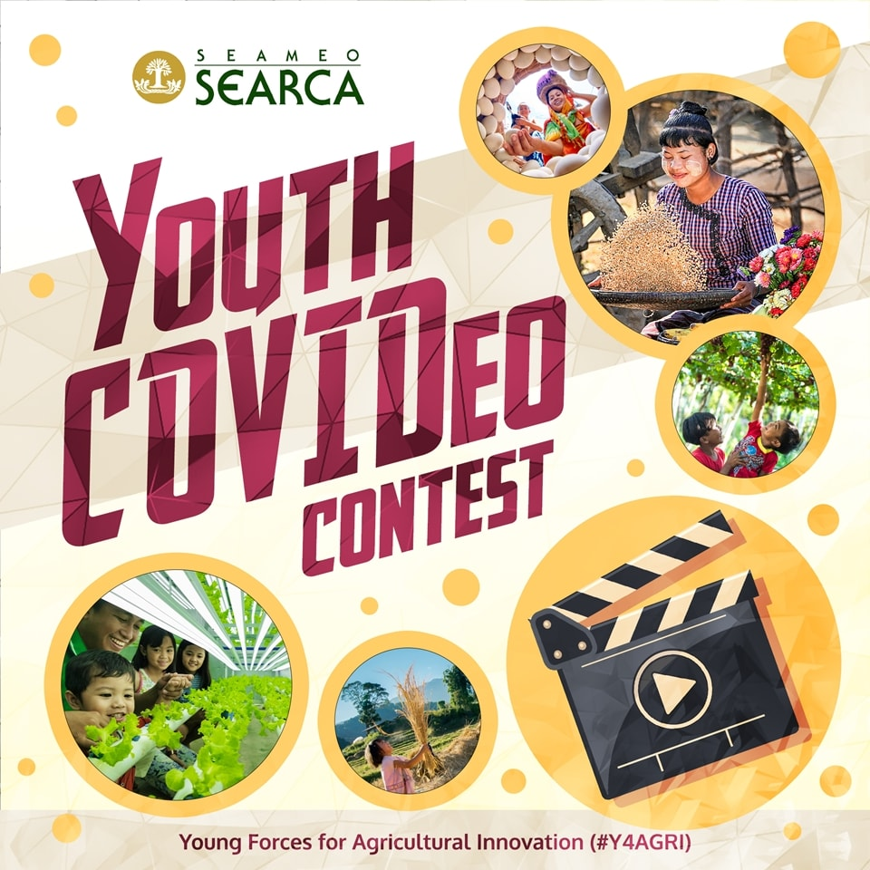 SEARCA #Y4AGRI Youth COVIDeo Contest