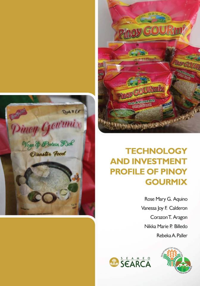 Technology and Investment Profile of Pinoy GOURmixs