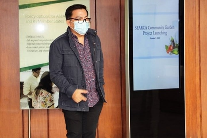 Dr. Rico C. Ancog, who leads SEARCA's Emerging Innovation for Growth Program, said SEARCA sees the need to embark on initiatives that address the needs of farmers on the ground and that this project is one way that SEARCA can support farmers who were badly affected by the COVID-19 pandemic.