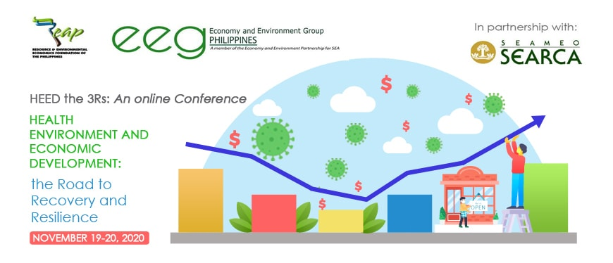 1st National Conference on Health, Environment and Economic Development:  The Road to Recovery and Resiliency (HEED the 3Rs)