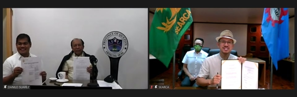 SEARCA and the Provincial Government of Quezon Ink Agreements for Scaling Agricultural and Rural Development Model