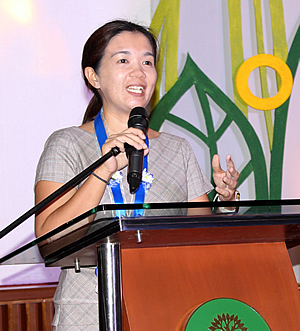 Dr. Aimee Lynn Barrion-Dupo, Professor 3 and UP Scientist 1 at the UPLB Institute of Biological Sciences