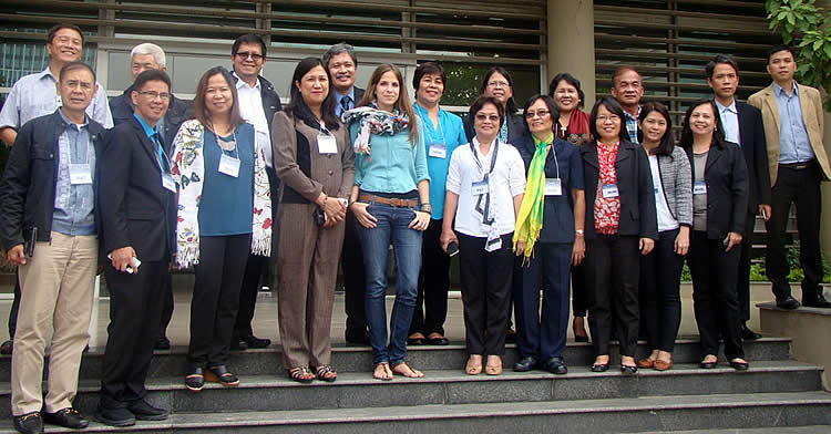 philippine aggie officials staff learn adaptation initiatives in vietnam