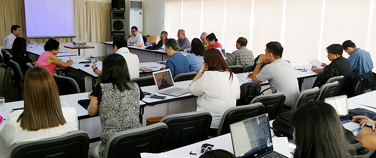 searca uplbfi conducts mid term review of amia project implementation 1