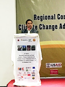 searca alumni spearheads confab on food security and climate change 1