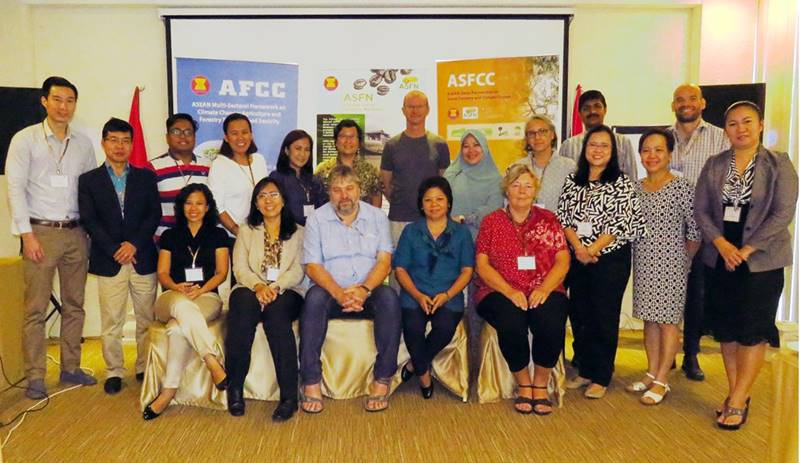 ASFCC leaders and representatives from implementing partners during the ASFCC Phase 3 Planning Workshop