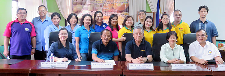 Calamansi Project Team with LGU and MinSCAT staff.