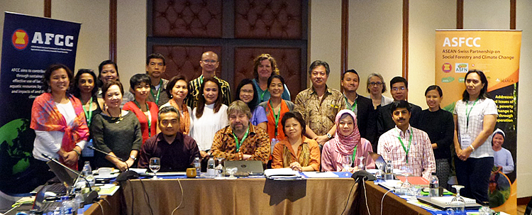 ASFCC workshop attendees during the Planning Meeting in Jakarta, Indonesia.