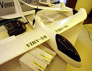Unmanned Aerial Vehicle (AUV) developed under AMIA Project 1