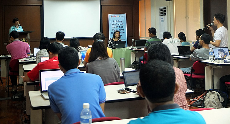 searca scholars sharpen skills on research writing