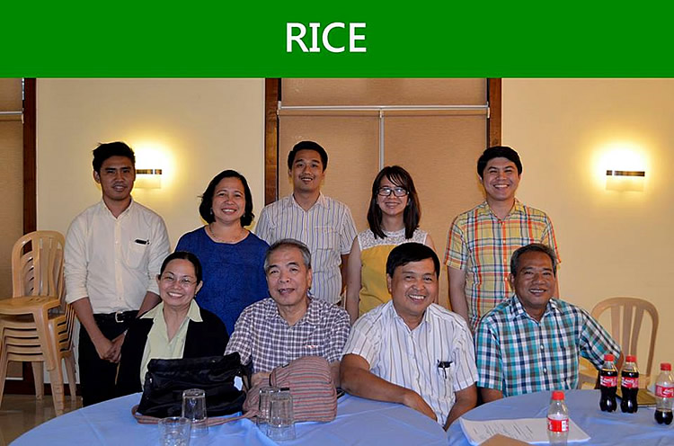 The participants from Rice group [br] (SOURCE: DA-BAR)