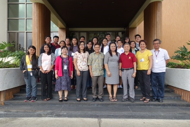 Participants and resource persons on the first day of the boot camp