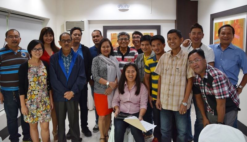 Participants from Naga City, San Fernando, and Milaor with the project consultants and SEARCA staff who provided support to the workshop.