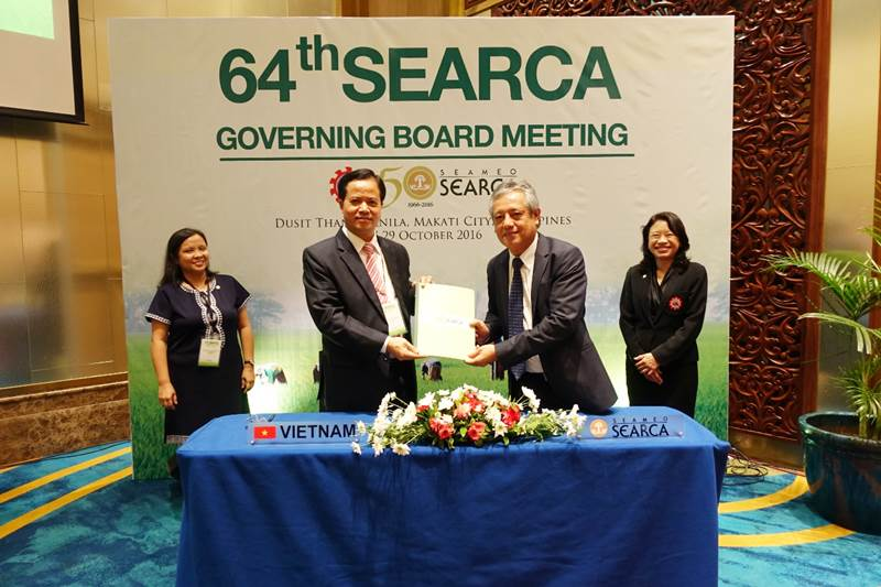 SEARCA, TUAF sign memorandum of understanding for institutional cooperation