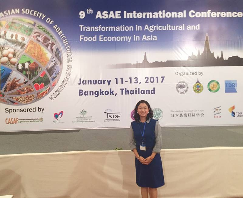 Dr. Majah-Leah V.  Ravago participates at the 9th ASAE International Conference.