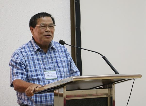 Dr. Agustin B. Molina, Jr., Bioversity International Honorary Research Fellow and Regional Coordinator for Asia and the Pacific Commodities System and Genetic Resources Programme