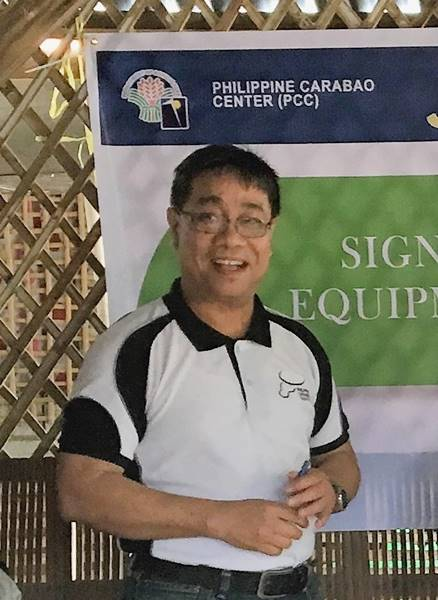 Dr. Daniel Aquino, PCC Center Director at the Central Luzon State University (CLSU) in Muñoz, Nueva Ecija