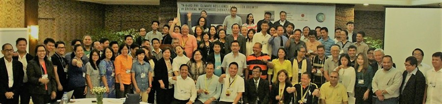 Delegates to the Conference on Climate Resilience and Green Growth in Mindanao composed of representatives from the local government units, national government agencies, private sector, academe, nongovernmental and people's organizations, and development partners at Grand Regal Hotel in Davao City on 9-10 May 2017