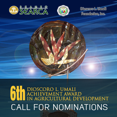 Search for the 2017 Dioscoro L. Umali Achievement Awardee in Agricultural Development