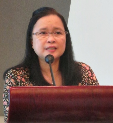 Dr. Burgos welcomed the participants and delivered her opening remarks.