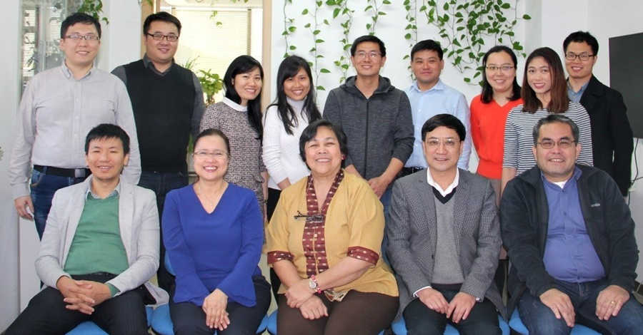 The RRT Project Teams from China, Vietnam and the Philippines headed by Dr. Prof. Jikun Huang of CCAP-Peking University.