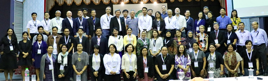 Participants during the last day of the workshop led by the SEARCA Director, Dr. Gil C. Saguiguit, Jr.