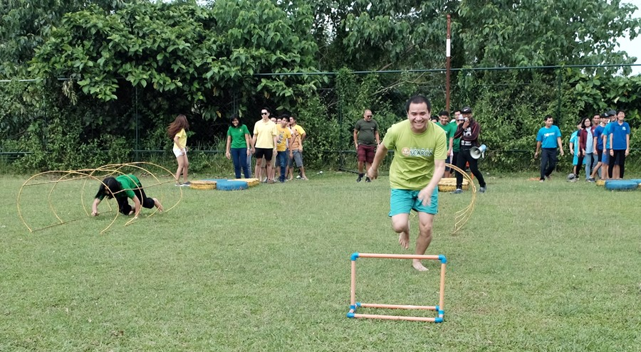 SEARCA holds Team Building Activity for Scholars