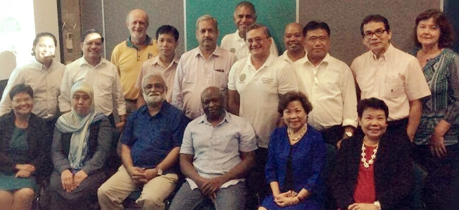 Participants of the Regional Networking Conference, Supporting Smallholder Farmers in Asia and Pacific-Islands Region through Strengthened Agricultural Advisory Services (SAAS) held on 8 September 2017 in Ingham, Queensland, Australia