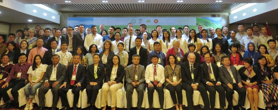 Participants of the Agroforestry Conference in Da Nang, Vietnam.