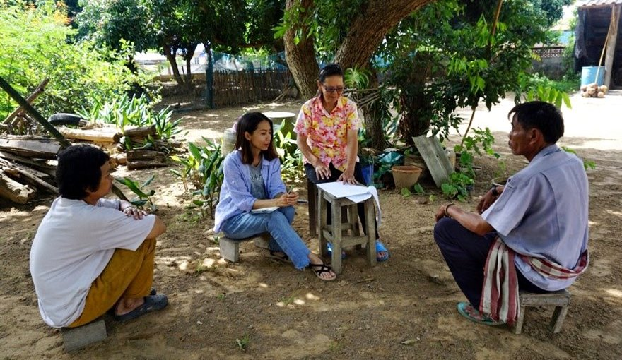 Interview of household member benefiting from the forest through NTFPs utilization.