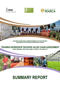 Training-Workshop on Rapid Value Chain Assessment: Summary Report