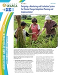 Designing and Monitoring and Evaluation System for Climate Change Adaptation Planning and Implementation