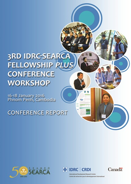 3rd IDRC-SEARCA Fellowship Plus Conference-Workshop