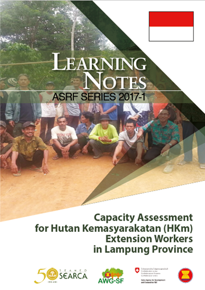 Capacity Assessment for Hutan Kemasyarakatan (HKm) Extension Workers in Lampung Province