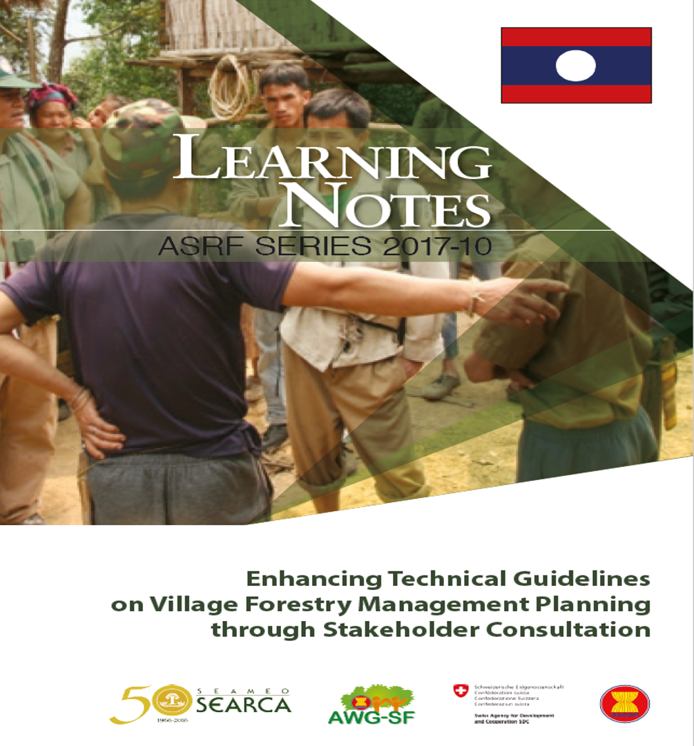 Enhancing Technical Guidelines on Village Forestry Management Planning through Stakeholder Consultation