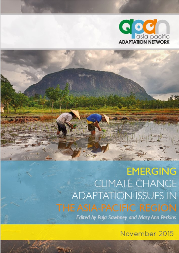 Emerging Climate Change Adaptation Issues in the Asia Pacific Region