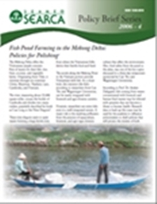 Fish Pond Farming in the Mekong Delta: Policies for Polishing