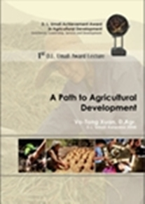 1st DL Umali Award Lecture -  A Path to Agricultural Development