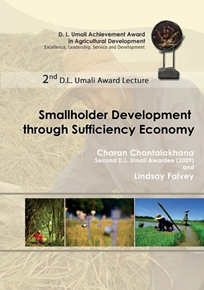 2nd DL Umali Award Lecture - Smallholder Development through Sufficiency Economy