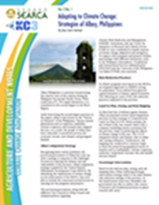 Adapting to Climate Change: Strategies of Albay, Philippines