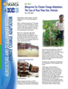 Mangroves for Climate Change Adaptation: The Case of Thua Thien Hue, Vietnam