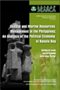 Coastal and Marine Resources Management in the Philippines: An Analysis of the Political Economy of Banate Bay