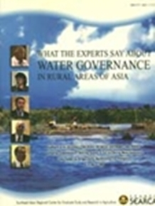What the Experts Say About Water Governance in Rural Areas of Asia