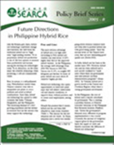 Future directions in Philippine hybrid rice