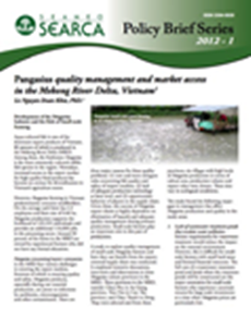 Pangasius Quality Management and Market Access in the Mekong River Delta, Vietnam