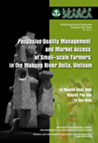 Pangasius Quality Management and Market Access of Small-scale Farmers in the Mekong River Delta, Vietnam
