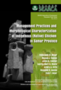Management Practices and Morphological Characterization of Indigenous (Native) Chickens in Samar Province