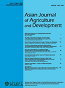 Asian Journal of Agriculture and Development Vol. 2 Nos.1 & 2