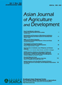 Asian Journal of Agriculture and Development Vol. 3 Nos. 1 & 2