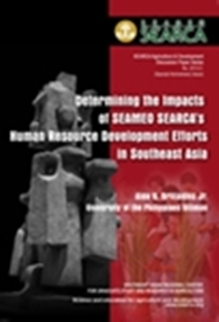 Determining the Impacts of SEAMEO SEARCA's Human Resource Development Efforts in Southeast Asia